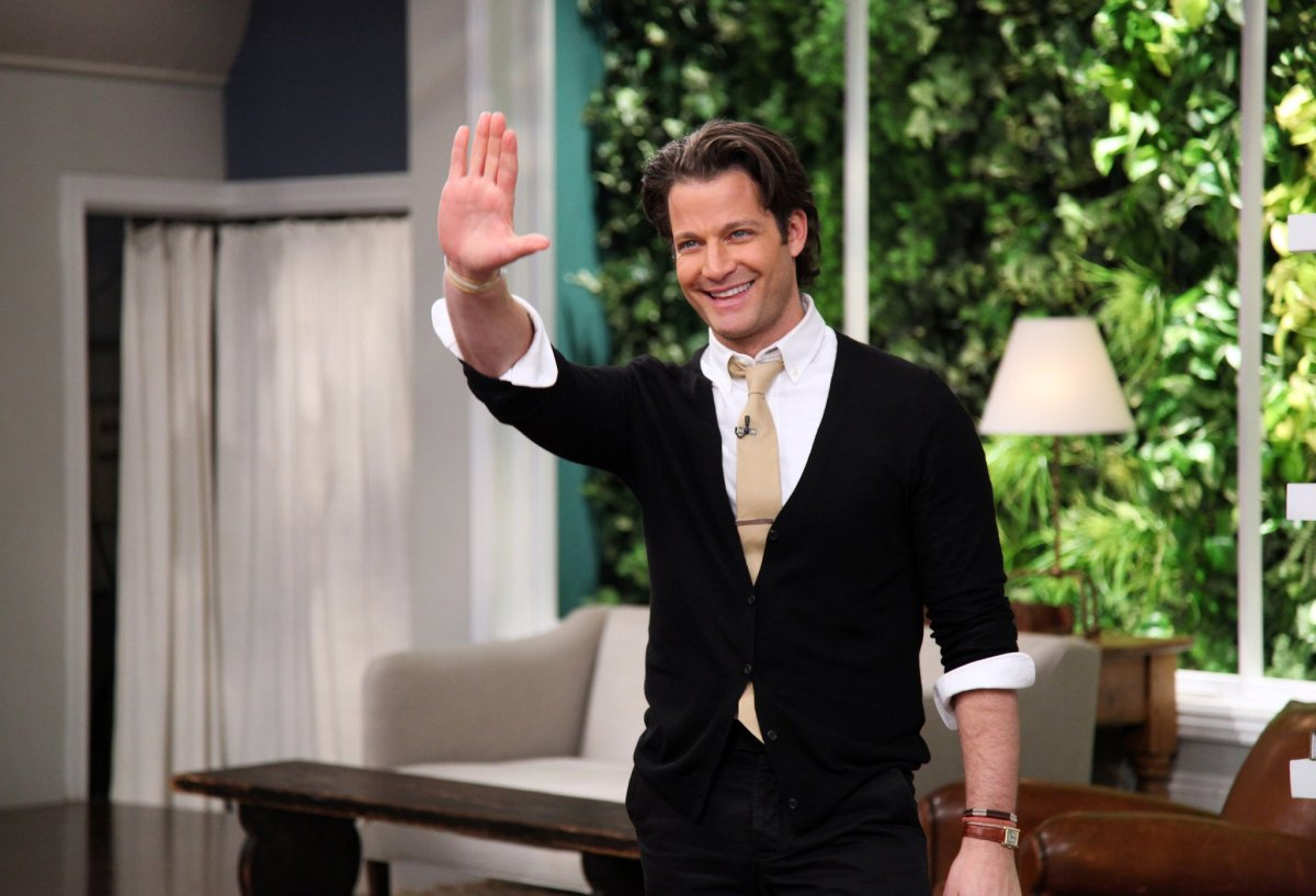 Nate Berkus Says Goodbye Out Hollywood